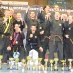 Hapkido - Jubel und europäisches Edelmetall für die Budogemeinschaft